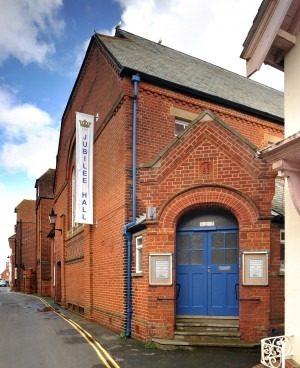 Aldeburgh Jubilee Hall Outside